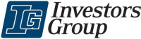 Investors Group logo - blue & white - Mar 2014
