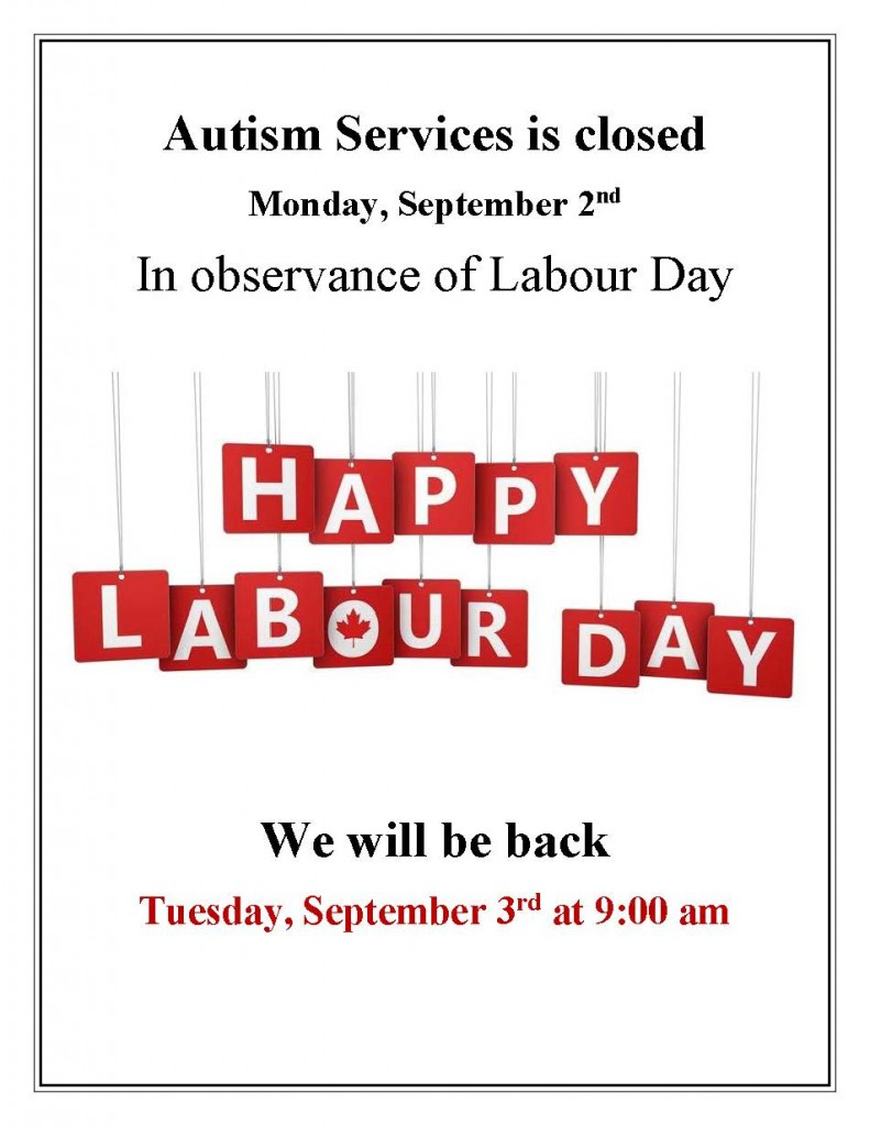 Labour Day Office Closure - 2019
