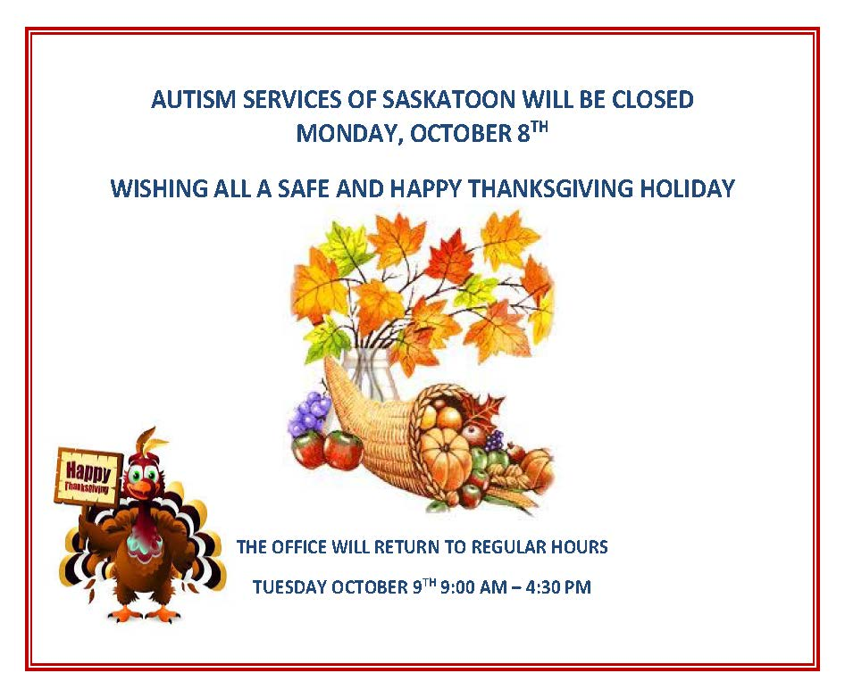 Thanksgiving Monday Office Closure
